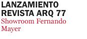Lanzamiento ARQ 77
