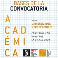 CONVOCATORIA  BIENAL PANAMERICANA DE ARQUITECTURA DE QUITO 2020: TRANSFORMACIONES